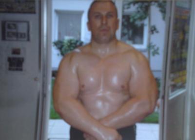 Safet Feratovic  -  Schwergewicht 115 KG