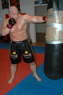 Safet Feratovic beim Training 2009