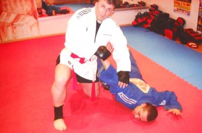 Safet Feratovic & Luigi beim Training
