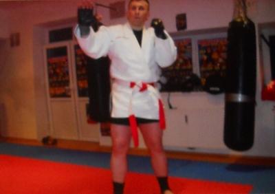 Safet Feratovic beim Training